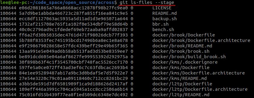 git_ls_files